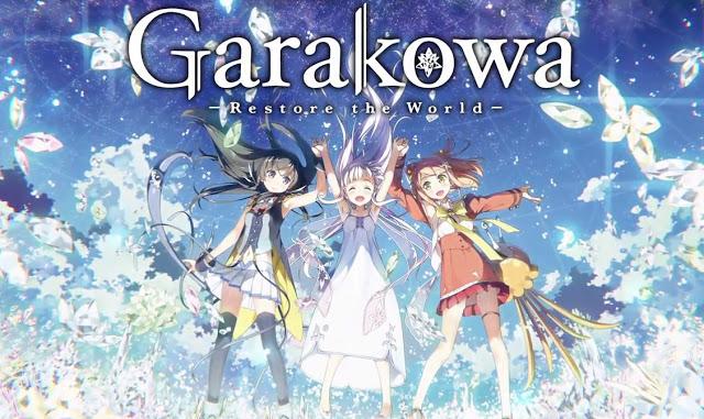 Glass no Hana to Kowasu Sekai – Anime MovieReview