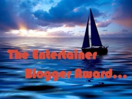 My First Nomination – The Entertainer BloggerAward