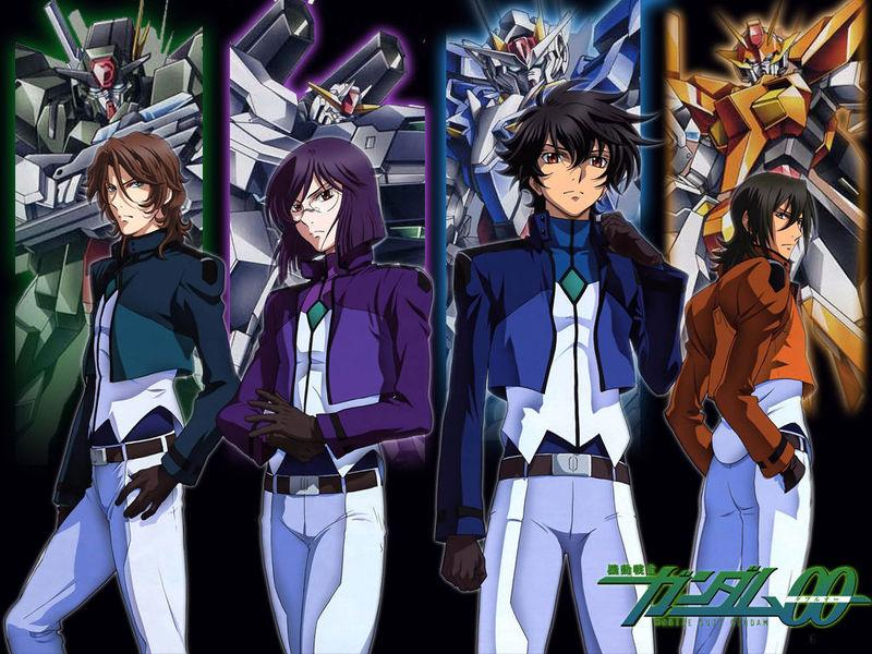 """In The Name of Peace"" & What is Moral in Mobile Suit Gundam 00 (OWLS Blog Tour)"