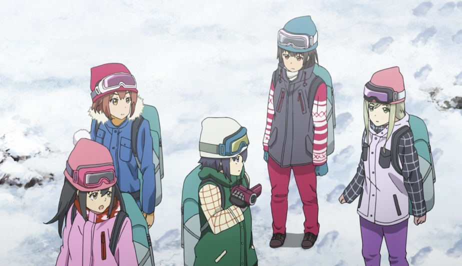"Schoolgirl Strikers – Animation Channel Episode 11 Review – ""Hair-raising! Unidentified Creature Spotted in the Snowy Mountains"""
