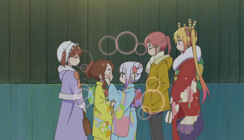 "Kobayashi-san Chi no Maid Dragon Episode 11 Review – ""Year End, New Year! (No Comiket Bit This Time)"""