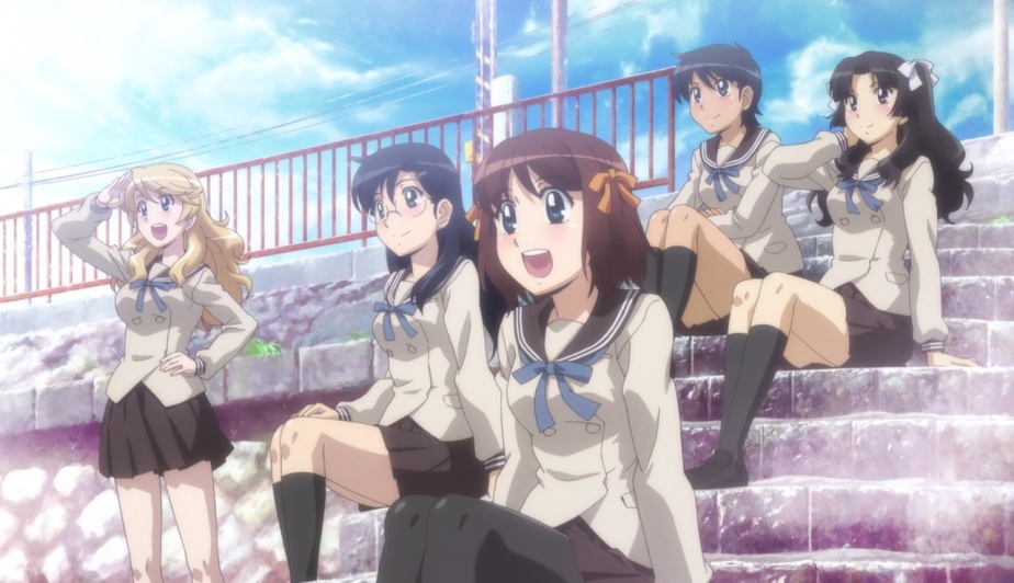 Minami Kamakura Koukou Joshi Jitensha-bu – Anime SeriesReview