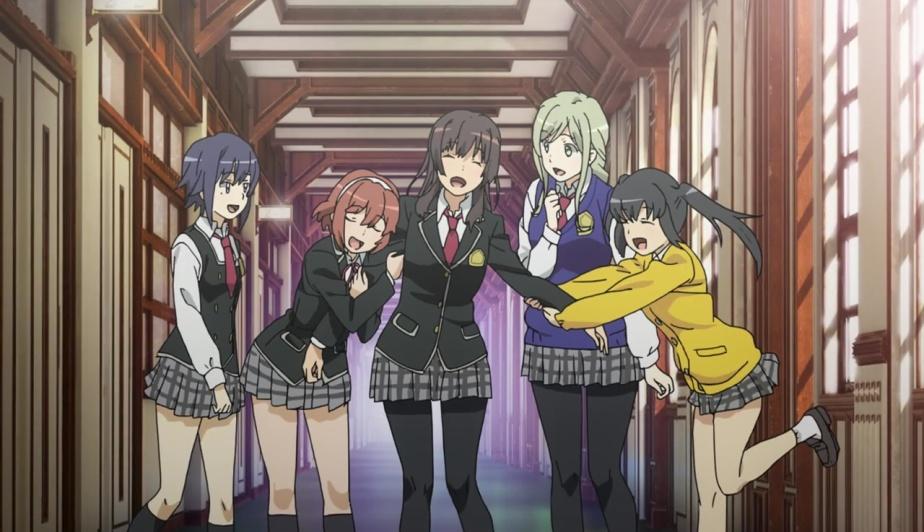 Schoolgirl Strikers: Animation Channel – Anime SeriesReview