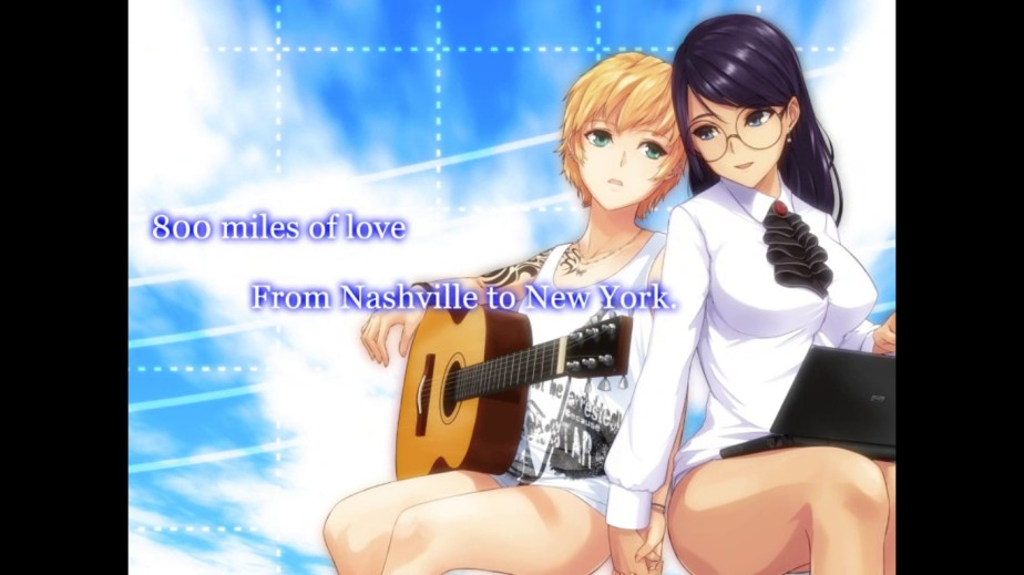 Love, Guitars, and the Nashville Skyline – Visual Novel Review