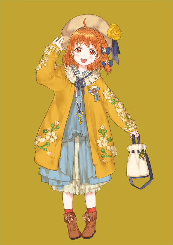 Fanart of Chika as a Mori Girl.