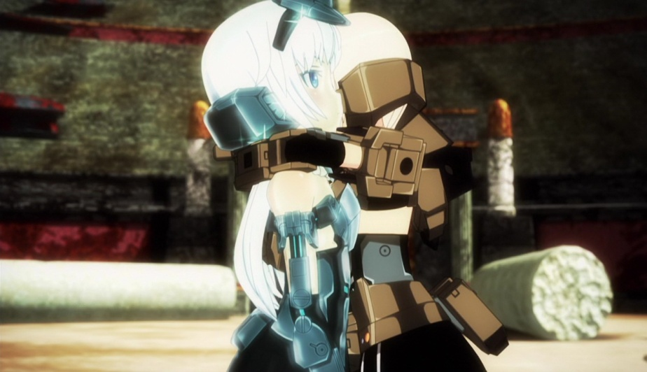 "Frame Arms Girl Episode 5 Review – ""The Architect is Activated / The Errand Race"""