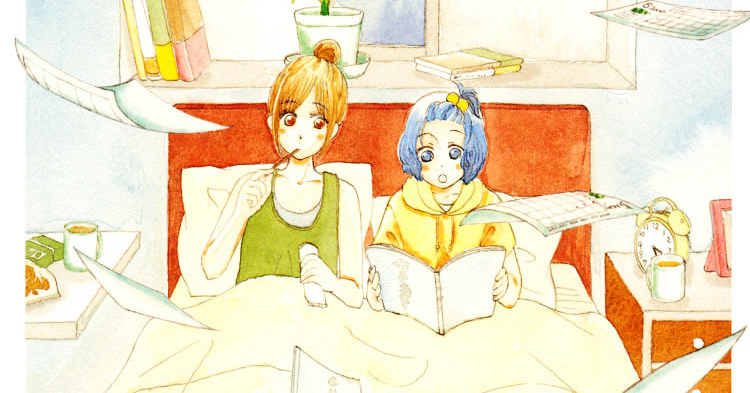 Aqua Blue Cinema – Manga Review [Collaboration with Lita Kino]