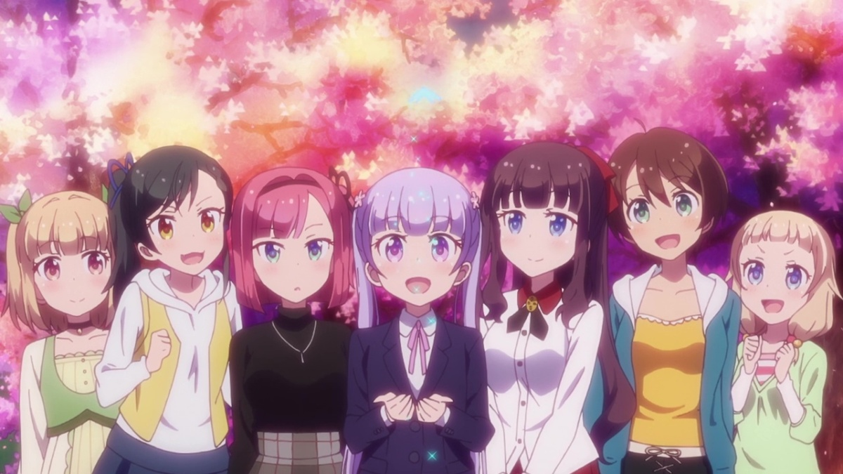 New game anime series review the lily garden