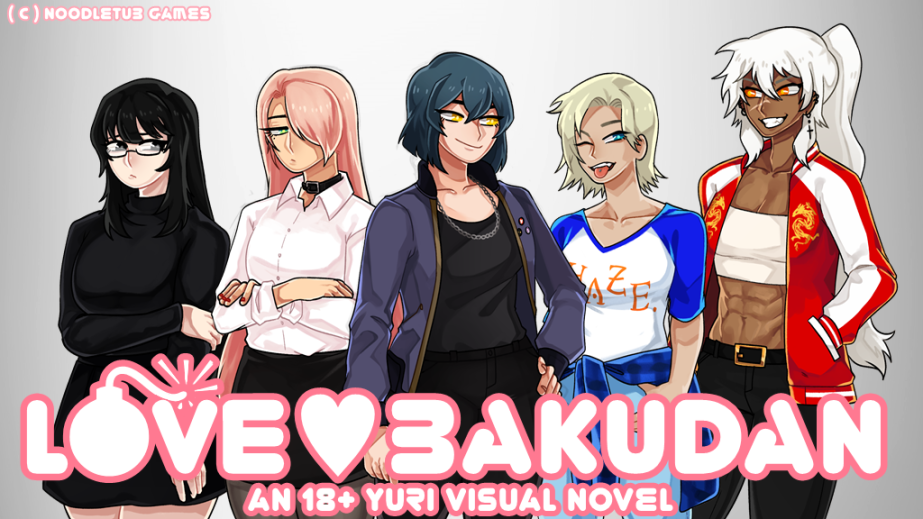 LOVE BAKUDAN – An Upcoming 18+ Yuri Visual Novel Which Needs Your Help!